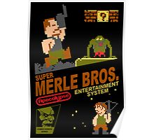 Super Merle Brothers Poster