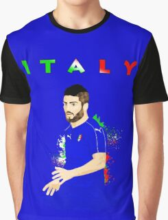 ITALY : EURO Graphic T-Shirt