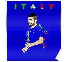 ITALY : EURO Poster