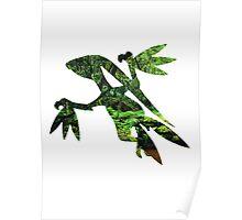 Grovyle used Leaf Blade Poster