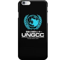 UNGCC GODZILLA VS MECHAGODZILLA Japanese Movie United Nations Godzilla Countermeasures Center JXSDF iPhone Case/Skin