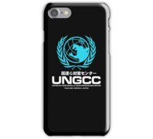 UNGCC GODZILLA VS MECHAGODZILLA Japanese Movie United Nations Godzilla Countermeasures Center JXSDF iPhone Case/Skin