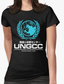 UNGCC GODZILLA VS MECHAGODZILLA Japanese Movie United Nations Godzilla Countermeasures Center JXSDF Womens Fitted T-Shirt