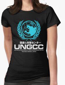 UNGCC GODZILLA VS MECHAGODZILLA Japanese Movie United Nations Godzilla Countermeasures Center JXSDF Womens Fitted T-Shirt