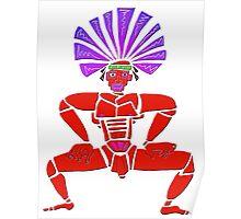 Dance Warrior X  Big Chief Twerking Poster
