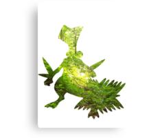 Sceptile used Leaf Storm Canvas Print