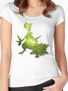 Sceptile used Leaf Storm Women's Fitted Scoop T-Shirt