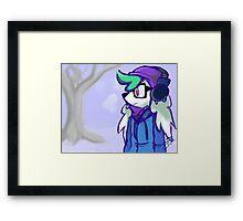 So Friggin Cold Framed Print