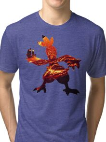 Combusken used Fire Spin Tri-blend T-Shirt