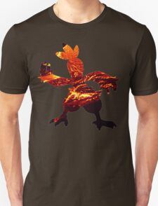 Combusken used Fire Spin Unisex T-Shirt