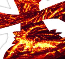Combusken used Fire Spin Sticker