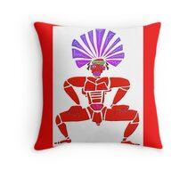 Dance Warrior X  Big Chief Twerking Throw Pillow