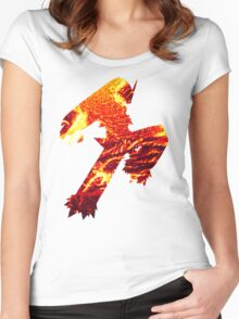 Blaziken used Blaze Kick Women's Fitted Scoop T-Shirt