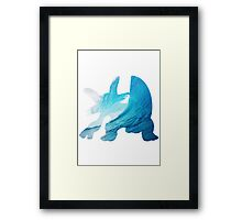 Swampert used Muddy Water Framed Print