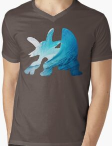 Swampert used Muddy Water Mens V-Neck T-Shirt