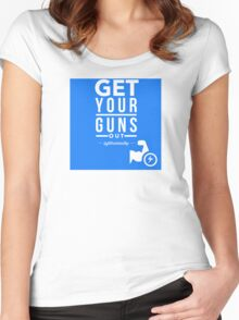 Get Your Guns Out Women's Fitted Scoop T-Shirt
