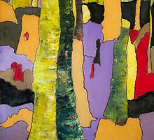 Trees for a Songbird by Marie-Paule Thorn