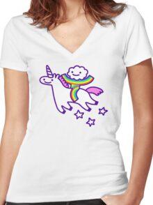 Best Friends Forever Women's Fitted V-Neck T-Shirt