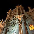 Cathedral of Syracuse (Duomo di Siracusa) in Sicily, Italy by Georgia Mizuleva
