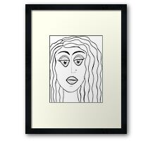 For Real? Framed Print