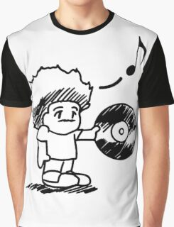 SOULective Listening Lounge Tee - 012 BLACK GRAPHIC Graphic T-Shirt