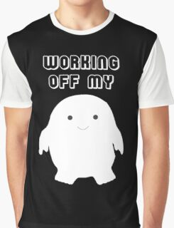 Doctor Who Working Off My Adipose  Graphic T-Shirt