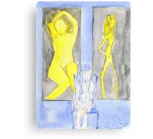 Selfs, saints, souls and ghosts XVI Canvas Print