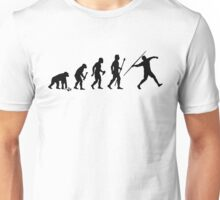 Funny Evolution Of Javelin Unisex T-Shirt