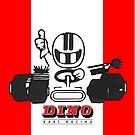 Vintage Kart Dino by harrisonformula