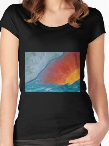 Fade Women's Fitted Scoop T-Shirt
