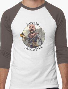 Mister Megative Men's Baseball ¾ T-Shirt