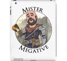 Mister Megative iPad Case/Skin