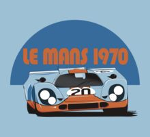 Le Mans 1970 Porsche 917 One Piece - Short Sleeve