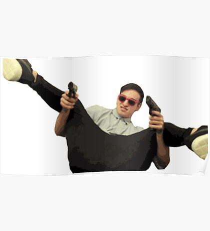 Filthy Frank Guns Poster
