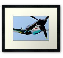 "P-40 ""Flying Tigers"" Pop Framed Print"
