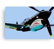 "P-40 ""Flying Tigers"" Pop Canvas Print"