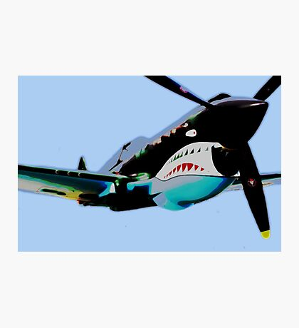 "P-40 ""Flying Tigers"" Pop Photographic Print"