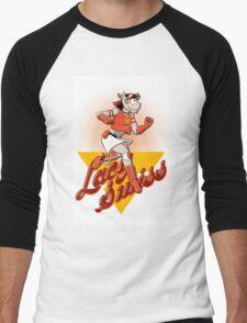 Lacy Swiss of The Bovine League Men's Baseball ¾ T-Shirt