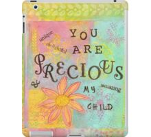 You Are Precious--Affirmations From Abba iPad Case/Skin