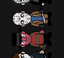 Horror Movie -  Serial Killers - Cloud Nine by Sean Irvin