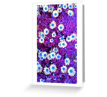 Electric Bloom #11 Greeting Card
