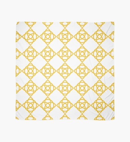 Gold Celtic Knot Scarf