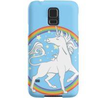 Sparkle Rainbow Unicorn Samsung Galaxy Case/Skin