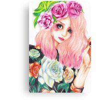.floral. Canvas Print