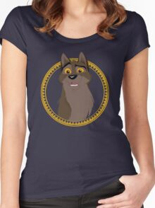 Not a Dog, Not a Wolf Women's Fitted Scoop T-Shirt