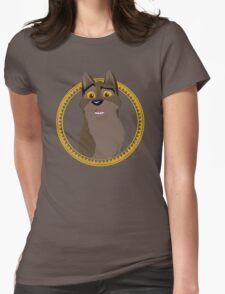 Not a Dog, Not a Wolf Womens Fitted T-Shirt