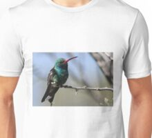 Broad-Billed Hummingbird.. Unisex T-Shirt