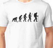 Evolution Of Hiking Unisex T-Shirt