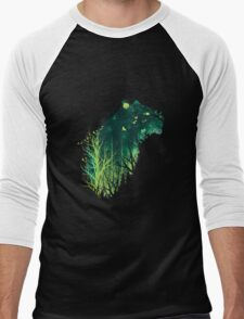 Space Tiger Men's Baseball ¾ T-Shirt