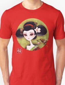 Sakura Girl Unisex T-Shirt